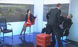 У прямому ефірі скандальний тернопільський депутат вчинив бійку (відео)
