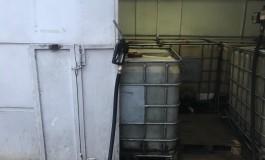 У Тернополі виявили чергову нелегальну заправку (фото)