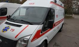 У райцентрі на Тернопільщині легкові автомобілі на півгодини заблокували виїзд швидкої
