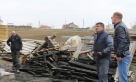 На Тернопільщині горів деревообробний цех (фото)