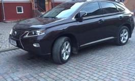 У Тернополі викрали Лексус коричневого кольору (фото)