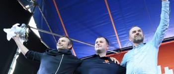 Святослав Вакарчук приїхав підтримати тернополянина Максима Черкашина, який балотується у Парламент