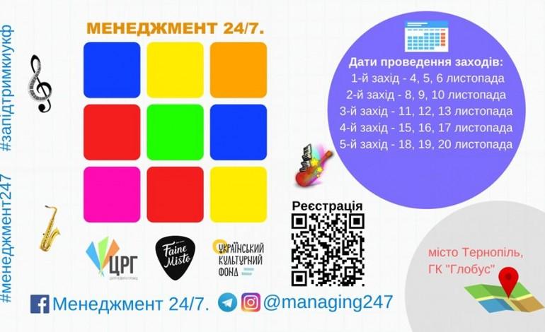 250 митців зі всієї України зберуться у Тернополі