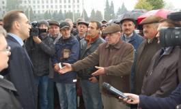 У Тернополі комунальники пікетували податкову