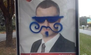 У Тернополі розмальовують кандидатів